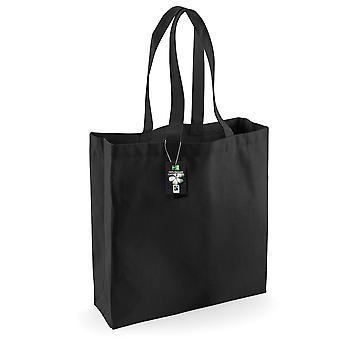 Westford Mill bomull klassisk Shopper väska (21 liter)