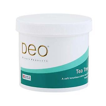 DEO Té Árbol Loción de Cera para Piel Sensible - Ingredientes Naturales - 425g