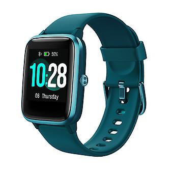 Smartwatch with IP68 Waterproof Activity Tracker Compatible IOS, Android-Green
