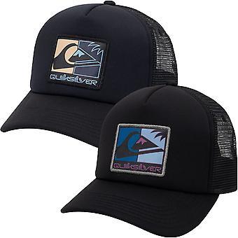 Quiksilver Mens Standardize Justerbar Snapback Baseball Trucker Cap Hat