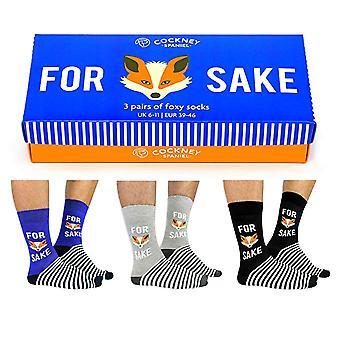 Cockney Spaniel 3 Pairs of Fox Sake Socks