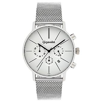 Gigandet G32-005 - Men's watch, stainless steel strap, color: silver