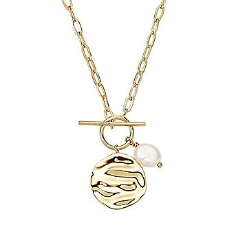 NOELANI - Women's pendant necklace, in gold-plated silver 925 with pearl, 45 cm