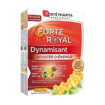 Royal Jelly Energizing energy booster 20 ampoules of 10ml