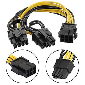Graphic Video Card Adapter Power Supply Cable