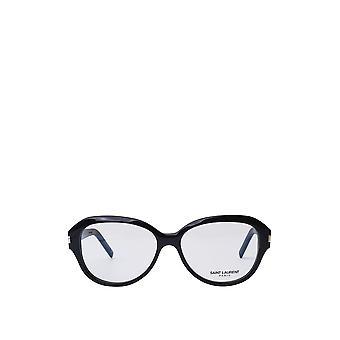 Saint Laurent SL 411 svarta unisexglasögon