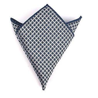 Kostym Pocket Square Kvinnor Prickar Brösthandduk