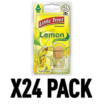 Lemon (Pack Of 24) Little Trees Bottle Air Freshener