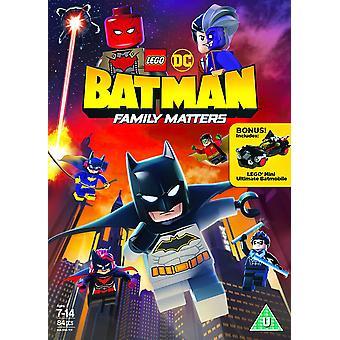 LEGO DC Batman: Family Matters DVD