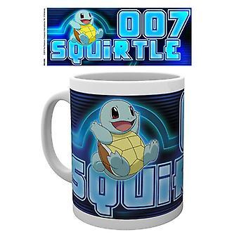 Pokemon Squirtle glöd mugg