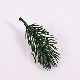 Mänty neula keinotekoinen fake kasvi, kukat oksa jouluksi, Puu