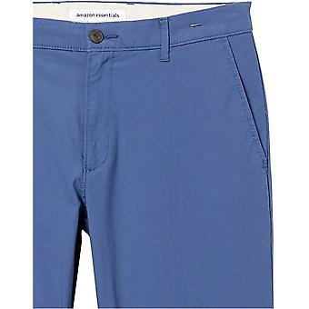 Essentials Męskie standardowe slim-fit lekkie spodnie stretch