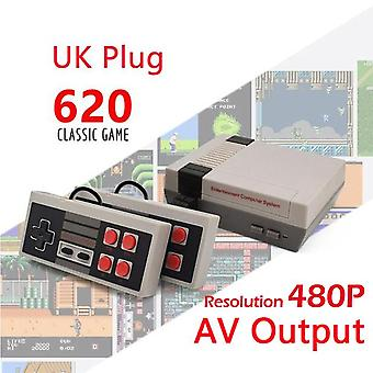 Built-in 500/620/621 games mini tv game console 8 bit retro classic handheld gaming player av output video game console toy