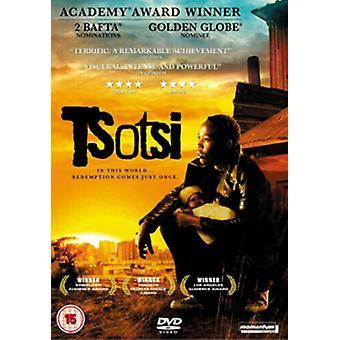Tsotsi DVD (2006) Presley Chweneyagae Hood (DIR) Zertifikat 15 Region 2