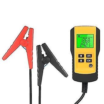 12V auton akkuanalysaattori LCD Digital Automotive Vehicle Battery Diagnostic Tester Tool