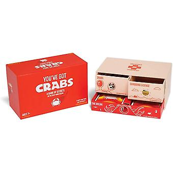 You've Got Crabs By Exploding Kittens - A Card Game Filled With Crustaceans And Secrets - Family-friendly Party Games - Card Games For Adults, Teens