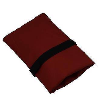 2Pcs Robinet Antigel Couverture Hiver Jardin extérieur Robinet Housse Protectrice (Rouge rouille)