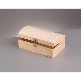 Coffre au trésor en bois de 13cm avec clasp pour décorer Coffres de trésor de pirate