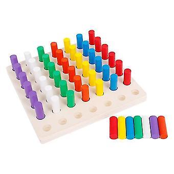 木製スティックチェス早期教育玩おもちゃ記憶ゲーム