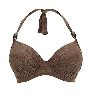 Fantasie Lombok FS6007 W Underwired Banded Bikini Top Tryffeli (TRE)