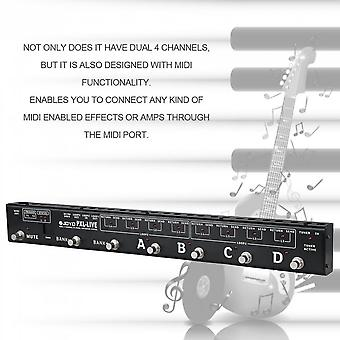 Pxl-live Programmable Pedal Controller Switching Control Grouping System