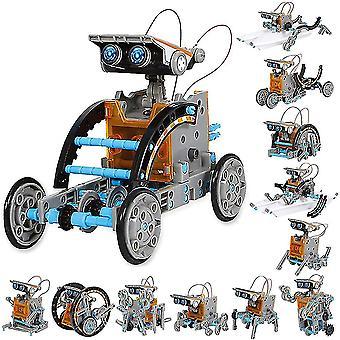 Varsi 12-in-1 Koulutus Aurinko robotti lelut -190 kappaletta