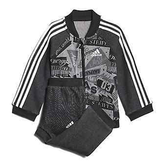 Детский спортивный костюм Adidas I BBALL JOG FT Серый