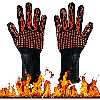 Extreme Heat Resistant Oven Silicone Non-slip Cooking Glove