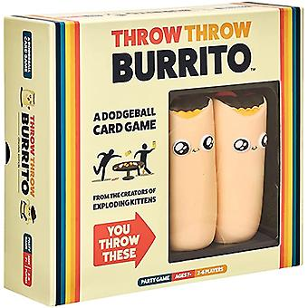 Throw Throw Burrito By Exploding Kittens A Dodgeball Card Game Family Friendly Party Games
