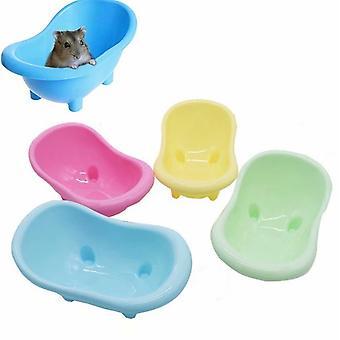 Premium Hamster Bath Mini Bath Pet Bathtub Bathroom Bathroom 4pcs Case