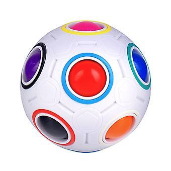 Educational Magic Puzzle Toys Cube Fidget Twist Anti Stress Ball For Children Teens Adult