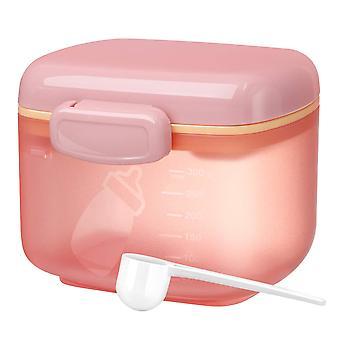 Baby Mjölk pulver dispenser mellanmål förvaringsbehållare med skopa