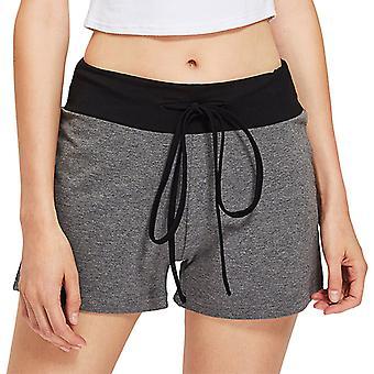Womens Casual Printed Yoga Shorts Fitness Gym Hot Pants