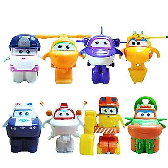 Super Flying Man Toy Set Full Set Of Large Transformers Little Love Beard Cool Flying Duo Duo Cool Remily