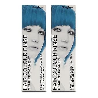 Stargazer Semi-Permanent Hair Colour Dye SILVERLOOK (2-Pack)
