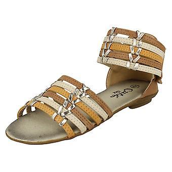 Girls Cutie Low Heel Summer Sandal H0106
