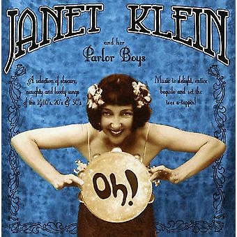 Janet Klein & Her Parlor Boys - Oh! [CD] USA import