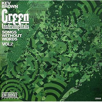 Kev Brown - Kev Brown: Vol. 1-2-Lieder ohne Worte [CD] USA import