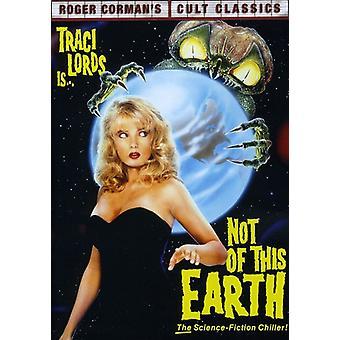 Ikke av denne jord [DVD] USA importere