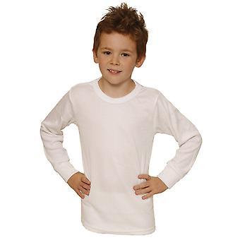 OITAVA meninos roupa interior térmica manga longa camiseta / colete / superior