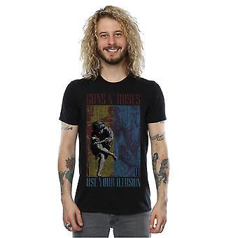 Guns N Roses Men's Use Your Illusion T-Shirt