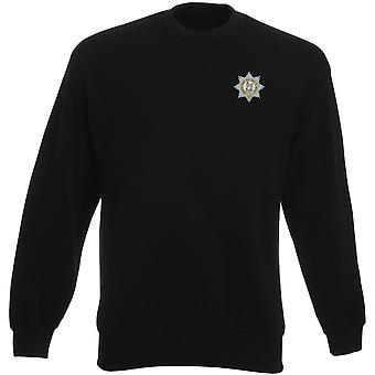 The Worcesershire Regiment Embroidered Logo 1920 - Official British Army Heavyweight Sweatshirt