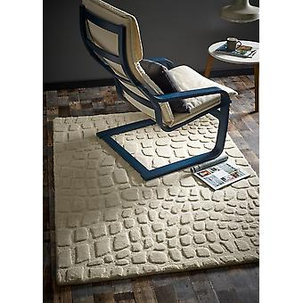 Marbles Ivory  Rectangle Rugs Plain/Nearly Plain Rugs
