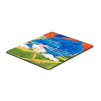 كنوز كارولين لوحة الماوس جولفر القط الأزرق 6011MP، لوحة الساخن أو ترفة