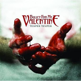 Bullet For My Valentine Coaster Temper Temper new Official single 9.5cm x 9.5cm