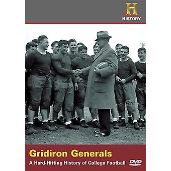 Gridiron Generals-Hard-Hitting History of College [DVD] USA import
