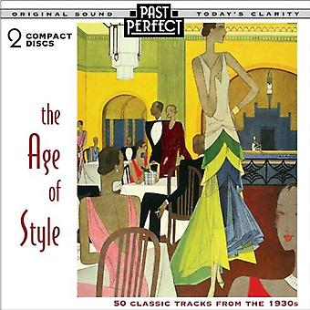 Age of Style: 50 Classic Tracks from the 1930s [Audio CD] Past Perfect