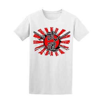 Ylitti Samurai miekat Miesten t-paita - kuva: Shutterstock