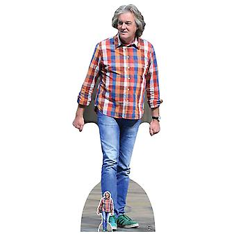 James May Carton Découpe / Standee / Standup / Standee