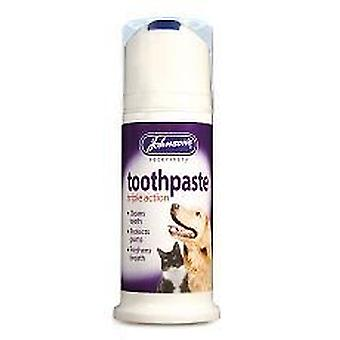 Johnsons Toothpaste For Dogs & Cats 50ml Bulk Deal of 6